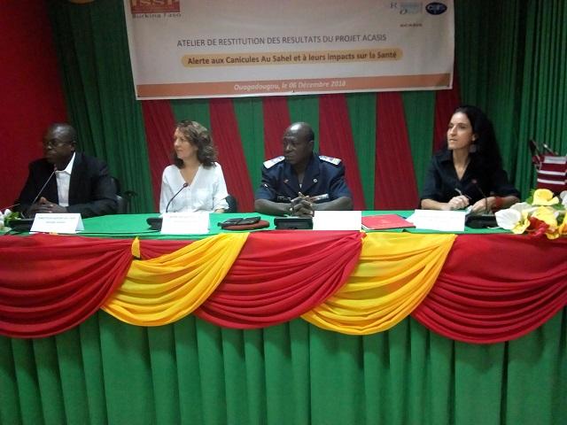 Canicule au Sahel: Le projet ACASIS évalue l'impact des chaleurs excessives sur la santé des populations
