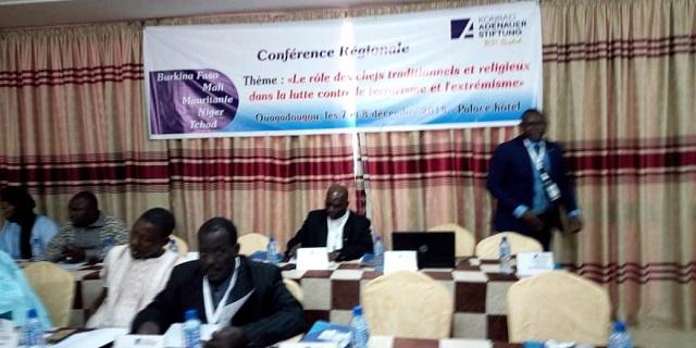 Lutte contre le terrorisme au Sahel: Les chefs traditionnels et religieux se concertent