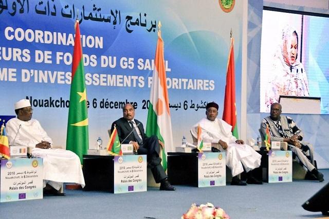 Programme d'investissements prioritaires du G5 Sahel: Partenaires et bailleurs de fonds ont délié le cordon de la bourse!