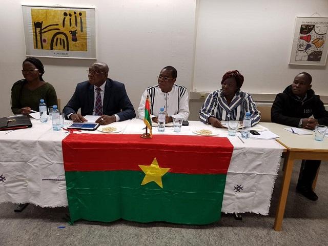 Vote des Burkinabè de l'extérieur en 2020: Vienne accueille une mission de la CENI