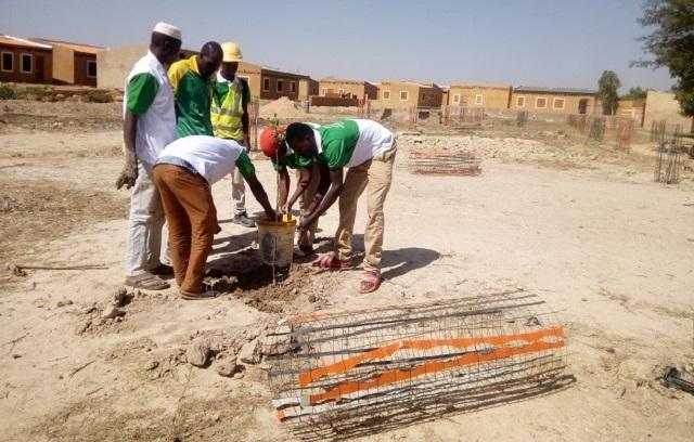 Cité Burkindi de Bassinko: Des plants mis en terre pour améliorer le cadre de vie des habitants