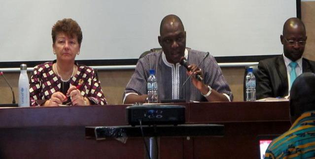 Revue annuelle du programme de coopération 2018-2020 entre le gouvernement du Burkina Faso et l'UNICEF: jauger le niveau de progrès réalisé