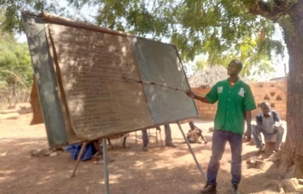 Province du Bam: L'ONG World Agroforesty Centre visite ses réalisations