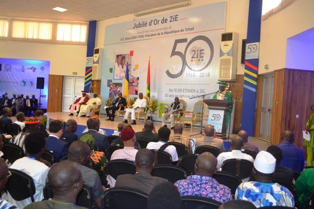 Institut 2iE: «Un outil précieux au service du développement socio-économique de notre continent» (président tchadien Idriss Déby Itno)