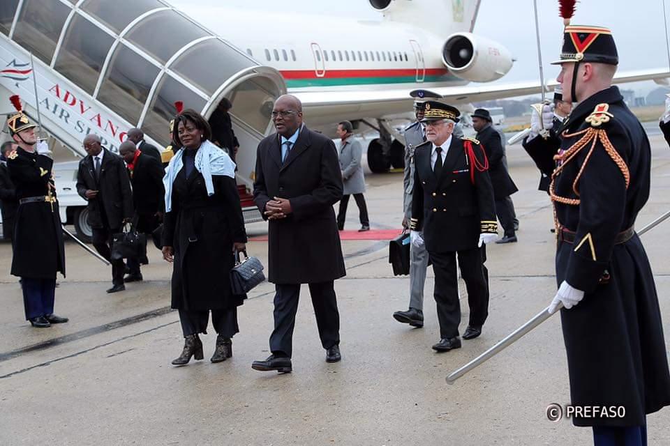 Visite officielle du président du Faso à Paris: pour une coopération plus renforcée