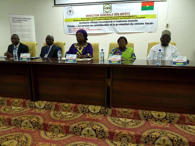 Direction générale des impôts: La conférence annuelle placée sous le signe de l'amélioration du service au contribuable