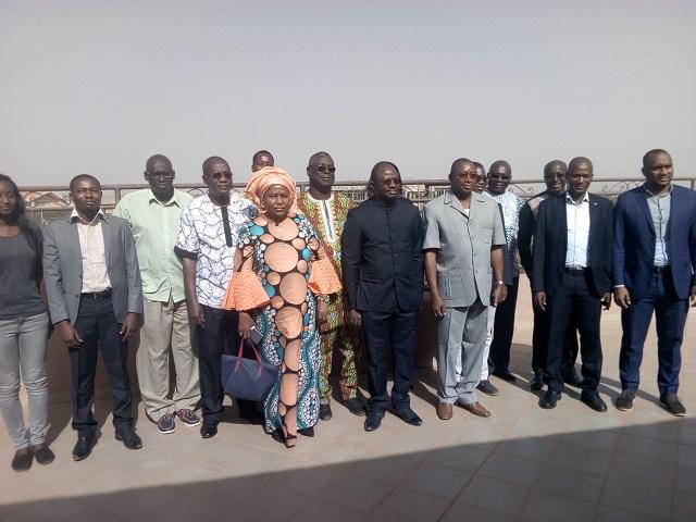 Gestion intégrée des ressources en eau: L'Autorité du bassin de la Volta forme des agents à la gestion de l'interface Webmapping