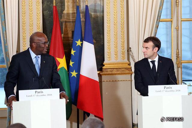 Burkina-France: Le président du Faso, Roch Kaboré,  salue le respect des engagements pris à Ouagadougou