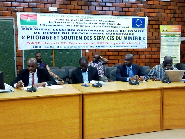 Ministère de l'Economie: Le Comité de revue du programme budgétaire présente le bilan de ses activités