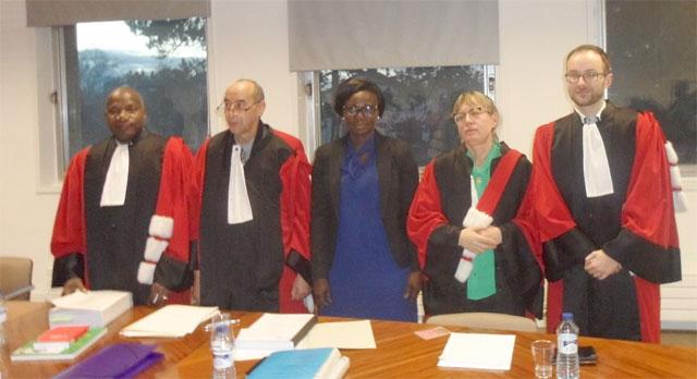 Soutenance de thèse: Diane Horélie PALGO Docteur en droit de l'Université de Bourgogne Franche-Comté (France)