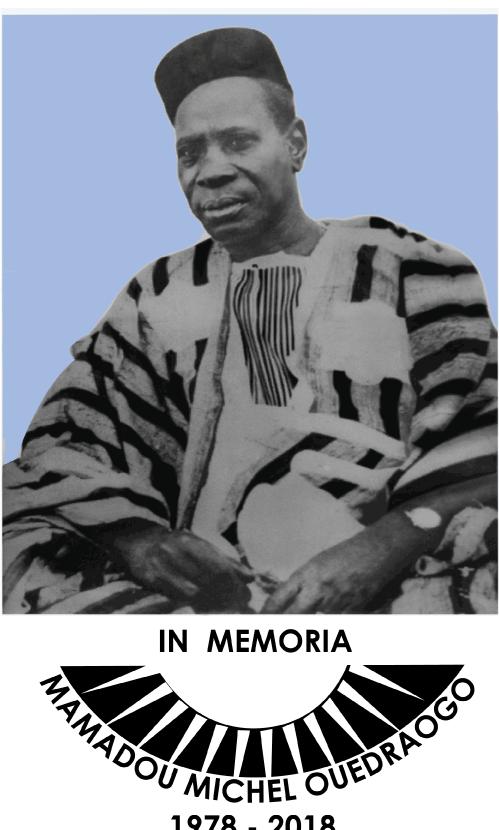 40eme anniversaire du décès de Mamadou Michel OUEDRAOGO: Remerciements