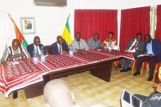 La Caisse nationale de la sécurité sociale a rencontré la diaspora burkinabè au Gabon