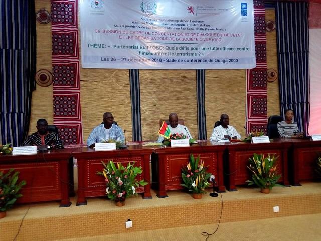 Dialogue Etat-OSC: Est-ce la fin des Organisations de la société civile dites «à coloration politique»?