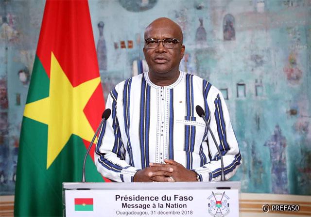 Burkina Faso: Le président Roch Kaboré appelle à une trève sociale