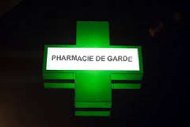 Programme des pharmacies de garde 2019  de Ouagadougou