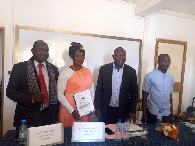 Education à la paix: Marceline Yaméogo suggère l'instauration de la «gouvernance scolaire» dans les écoles