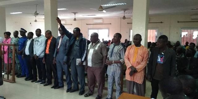 Apurement du passif foncier dans la commune de Bobo-Dioulasso: Les membres de la commission ad hoc ont prêté serment