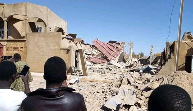 Explosion à Silmiyiri (Ouagadoudou): Un mort, des dégâts importants