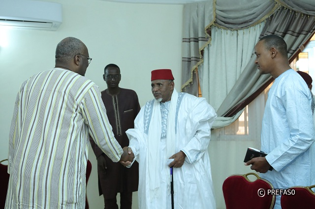 Cohésion nationale: le président du Faso reçoit une délégation de leaders coutumiers et associatifs peulhs