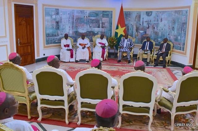Situation nationale: la Conférence épiscopale assure le président du Faso de son soutien