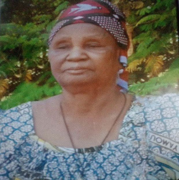 Décès de Madame YAMEOGO Wouigou Mariame Marie née BIRBA: Faire-part