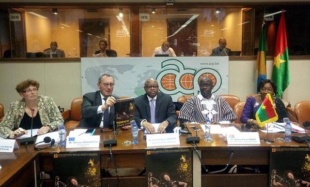 Conférence internationale du Fespaco 2019: A Bruxelles, des partenaires s'engagent à soutenir le 7e art africain