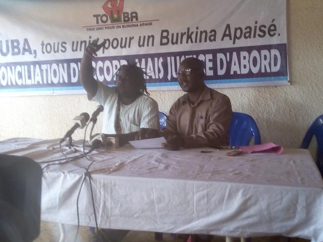 Situation nationale: L'association TOUBA invite les Burkinabè à savoir garder raison