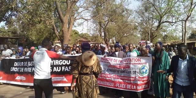 Marche de protestation contre les violences à Yirgou: Le collectif contre l'impunité et la stigmatisation des communautés demande justice pour les victimes