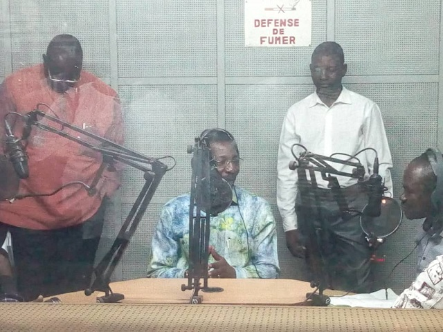 Radiodiffusion-télévision du Burkina: Alassane Bala Sakandé encourage les travailleurs