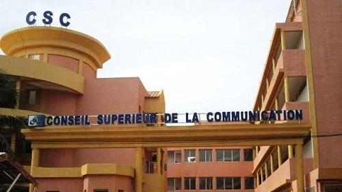Médias: Des manquements dans la conduite des émissions interactives au Burkina, selon le CSC