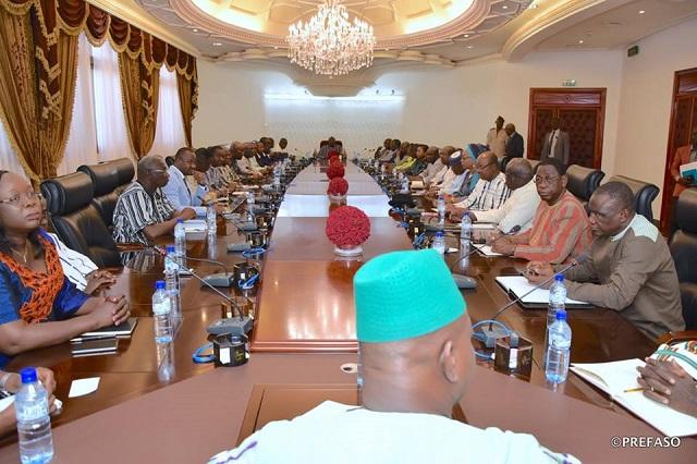 Nouveau gouvernement: le Premier ministre Christophe Dabiré et son équipe s'engagent à travailler à restaurer la sérénité et la stabilité du Burkina