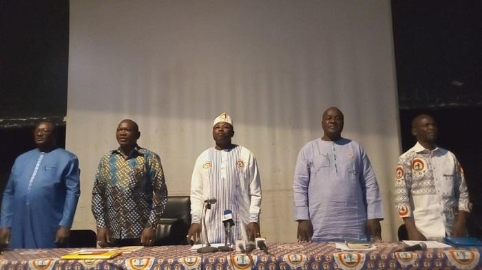 Vie politique: «2019 sera une année de combat pour le CDP», présage Eddie Komboïgo