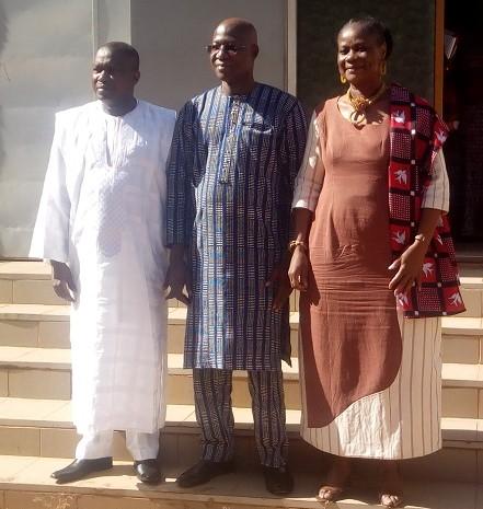 Ministère de l'Economie: Lassané Kaboré s'engage à promouvoir un climat social apaisé