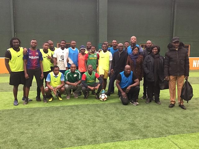 Paris: Du football pour promouvoir une relation dynamique au sein de la communauté burkinabè