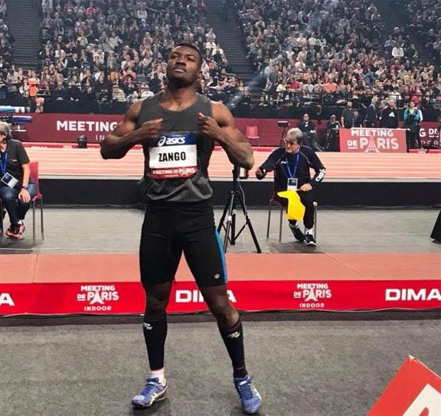 Triple saut Indoor Paris-Bercy 2019: Fabrice est sur la voie royale