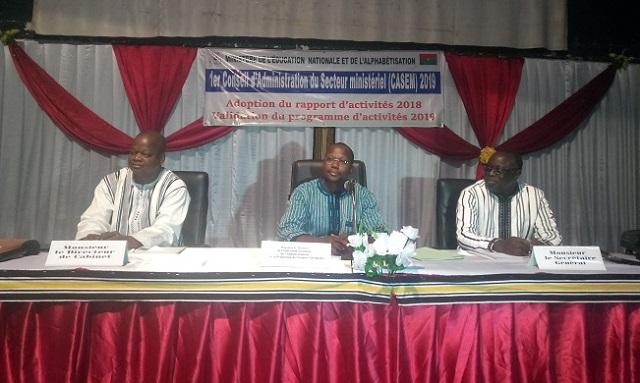 Ministère de l'Education nationale: Plus de 80% du Programme d'activités a été exécutés