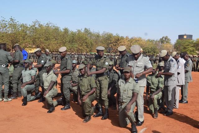 Ecole nationale de police: Fin de formation militaire de base pour 95 agents