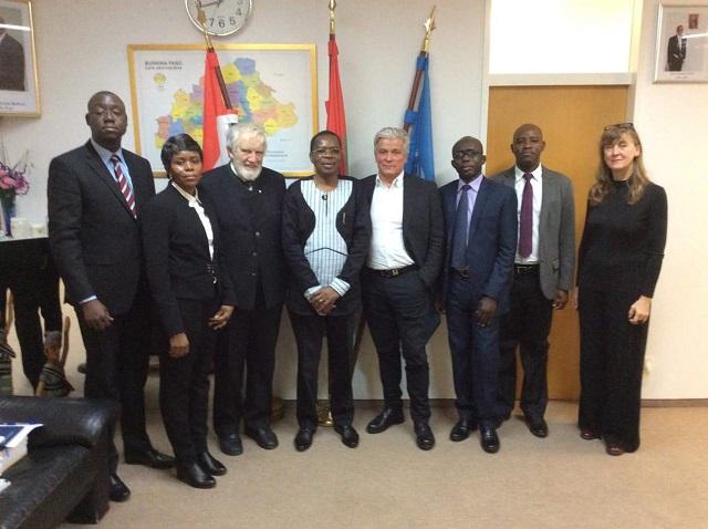 Ambassade du Burkina en Autriche: Dieudonné Kéré rencontre les consuls honoraires de Vienne et d'Innsbruck