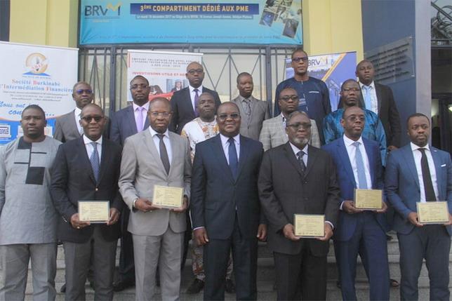 Bourse: Première cotation à la  BRVM de l'emprunt obligataire du Burkina «TPBF 6,50% 2018-2025»