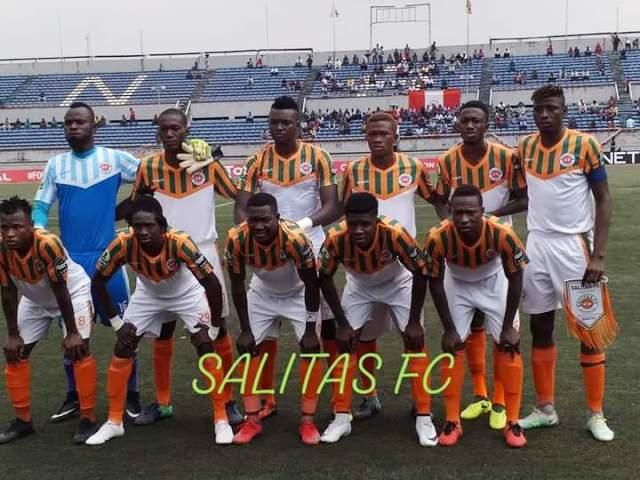 Coupe CAF: Salitas trébuche au Nigeria (2-0)