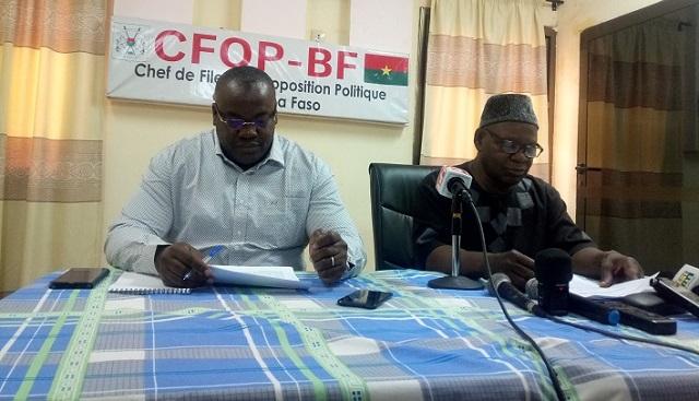 Neutralisation de 146 terroristes au Burkina: L'opposition politique félicite les forces de défense et de sécurité