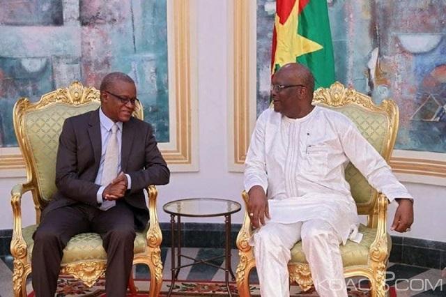 G5 Sahel: Le président Roch Kaboré échange avec le secrétaire permanent sur la feuille de route