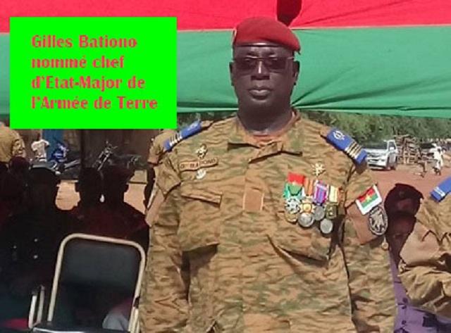 Forces armées nationales du Burkina: De nouveaux chefs
