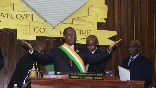 Côte d'Ivoire: «J'ai décidé de sacrifier mon poste pour la paix» dit Guillaume Soro, démissionnaire  de la présidence de l'Assemblée nationale