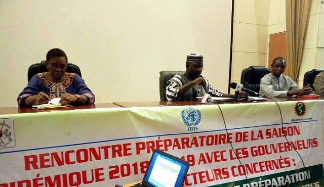 Ministère de la Santé: Les acteurs se préparent à contrer une éventuelle épidémie de méningite