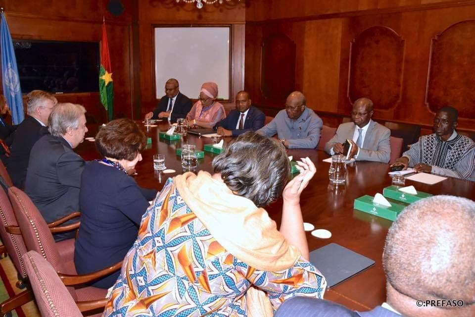 Sommet de l'UA: La question sécuritaire au cœur des échanges entre l'Union européenne, les Nations unies et le Président du Faso