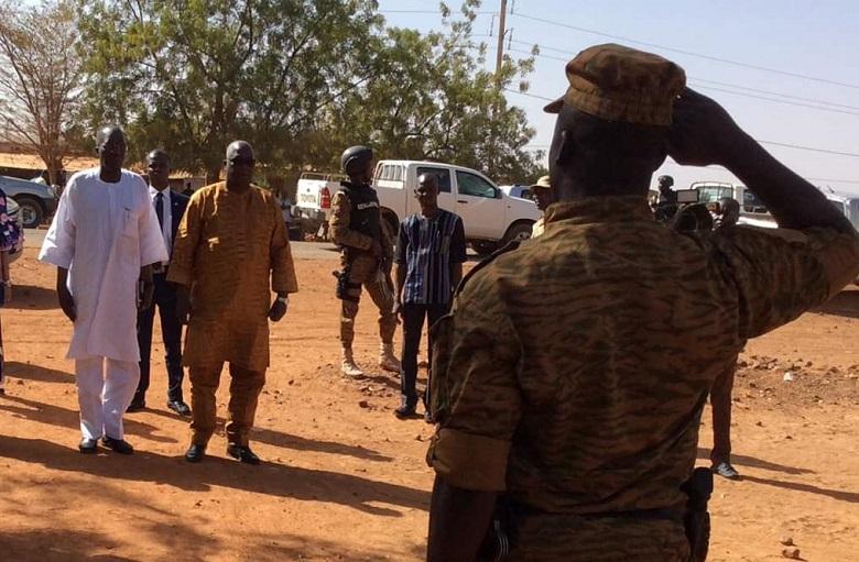 Attaque de Kongoussi: Les gendarmes resteront, ces actes de lâcheté ne les feront pas partir, martèle Ousséni Compaoré, ministre de la sécurité