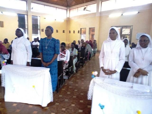 Communauté des disciples du divin maître: Quatre sœurs renouvèlent leurs vœux