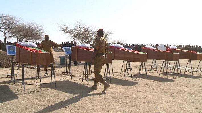 Attaque de la gendarmerie d'Oursi: Les cinq pandores tombés ont été inhumés à Dori