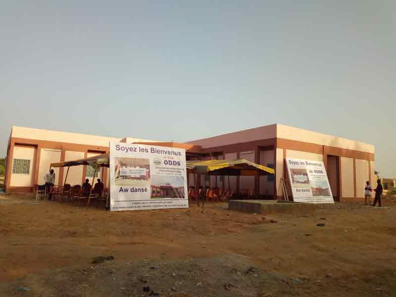 Bobo-Dioulasso: L'organisation Dupont pour le développement social inaugure son nouveau siège